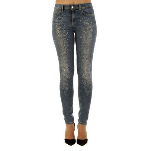 liu-jo jeans bottom up divine n. w. donna colore denim blue