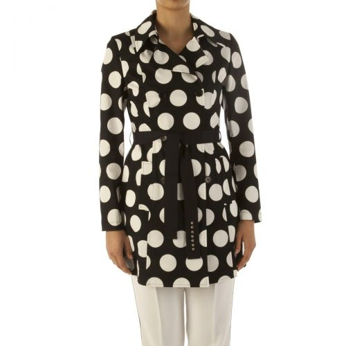 liu-jo trench donna colore pois big